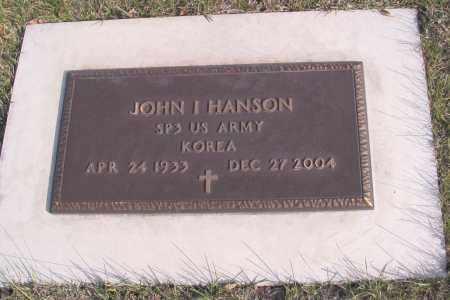 HANSON, JOHN I. - Cass County, North Dakota | JOHN I. HANSON - North Dakota Gravestone Photos