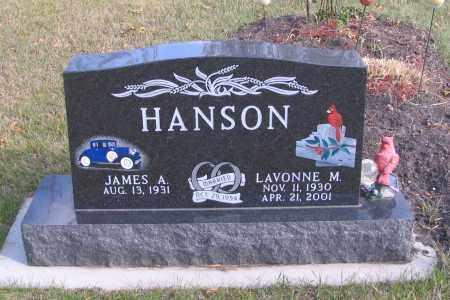 HANSON, LAVONNE M. - Cass County, North Dakota | LAVONNE M. HANSON - North Dakota Gravestone Photos