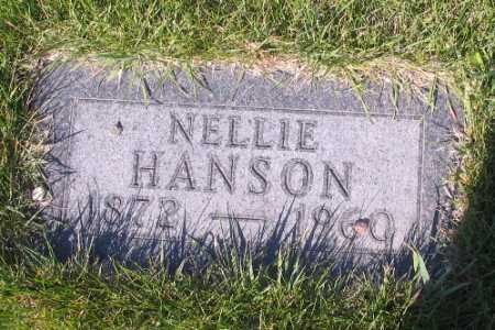 HANSON, NELLIE - Cass County, North Dakota | NELLIE HANSON - North Dakota Gravestone Photos