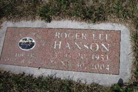 HANSON, ROGER LEE - Cass County, North Dakota | ROGER LEE HANSON - North Dakota Gravestone Photos