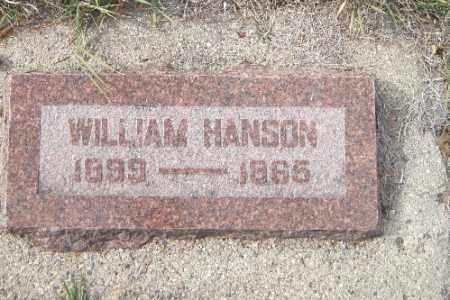 HANSON, WILLIAM - Cass County, North Dakota | WILLIAM HANSON - North Dakota Gravestone Photos