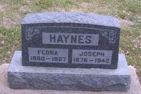 HAYNES, FLORA - Cass County, North Dakota | FLORA HAYNES - North Dakota Gravestone Photos
