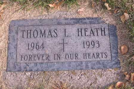 HEATH, THOMAS L. - Cass County, North Dakota | THOMAS L. HEATH - North Dakota Gravestone Photos