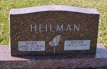 HEILMAN, MARIE - Cass County, North Dakota | MARIE HEILMAN - North Dakota Gravestone Photos