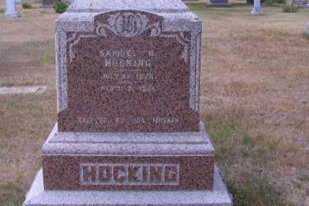 HOCKING, SAMUEL W. - Cass County, North Dakota | SAMUEL W. HOCKING - North Dakota Gravestone Photos