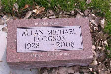 HODGSON, ALLAN MICHAEL - Cass County, North Dakota | ALLAN MICHAEL HODGSON - North Dakota Gravestone Photos