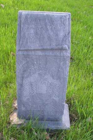 HODGSON, GORDELIA - Cass County, North Dakota | GORDELIA HODGSON - North Dakota Gravestone Photos