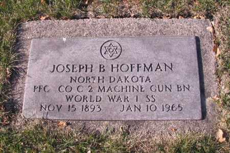 HOFFMAN, JOSEPH B. - Cass County, North Dakota | JOSEPH B. HOFFMAN - North Dakota Gravestone Photos