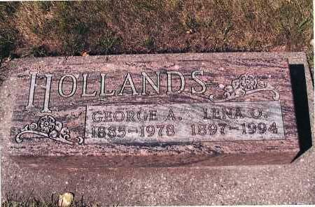 HOLLANDS, GEORGE A. - Cass County, North Dakota | GEORGE A. HOLLANDS - North Dakota Gravestone Photos