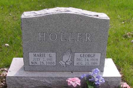 HOLLER, GEORGE - Cass County, North Dakota | GEORGE HOLLER - North Dakota Gravestone Photos