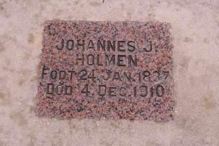 HOLMEN, JOHANNES J. - Cass County, North Dakota   JOHANNES J. HOLMEN - North Dakota Gravestone Photos