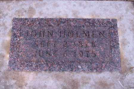 HOLMEN, JOHN - Cass County, North Dakota | JOHN HOLMEN - North Dakota Gravestone Photos