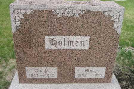 HOLMEN, MARY - Cass County, North Dakota | MARY HOLMEN - North Dakota Gravestone Photos