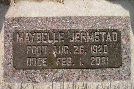 JERMSTAD, MAYBELLE - Cass County, North Dakota | MAYBELLE JERMSTAD - North Dakota Gravestone Photos