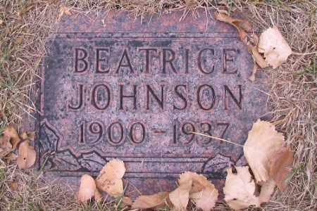 JOHNSON, BETRICE - Cass County, North Dakota | BETRICE JOHNSON - North Dakota Gravestone Photos