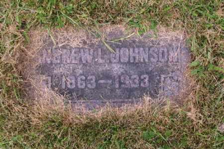 JOHNSON, ANDREW - Cass County, North Dakota | ANDREW JOHNSON - North Dakota Gravestone Photos