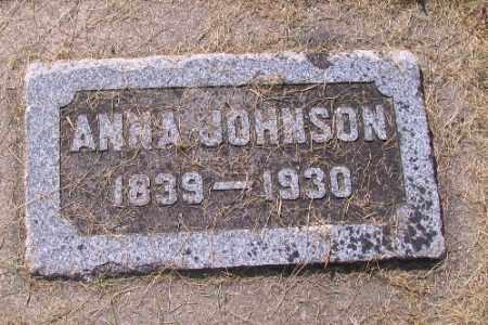 JOHNSON, ANNA - Cass County, North Dakota   ANNA JOHNSON - North Dakota Gravestone Photos