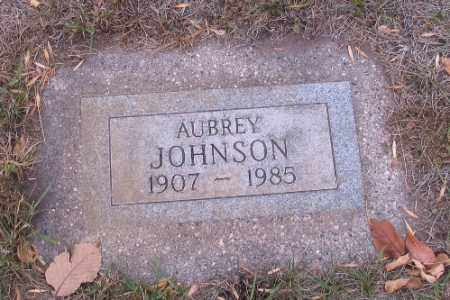 JOHNSON, AUBREY - Cass County, North Dakota | AUBREY JOHNSON - North Dakota Gravestone Photos