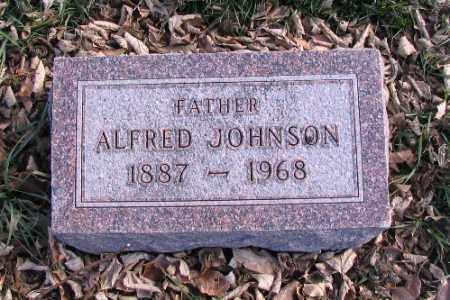 JOHNSON, ALFRED - Cass County, North Dakota   ALFRED JOHNSON - North Dakota Gravestone Photos