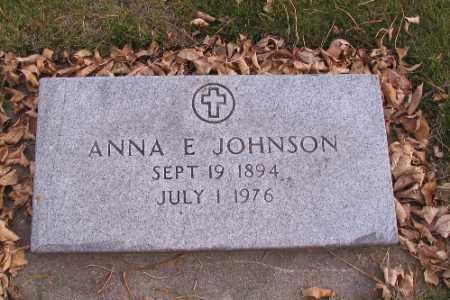 JOHNSON, ANNA E. - Cass County, North Dakota | ANNA E. JOHNSON - North Dakota Gravestone Photos
