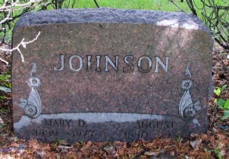 JOHNSON, AUGUST - Cass County, North Dakota | AUGUST JOHNSON - North Dakota Gravestone Photos