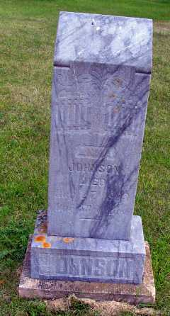 JOHNSON, ANNA - Cass County, North Dakota | ANNA JOHNSON - North Dakota Gravestone Photos