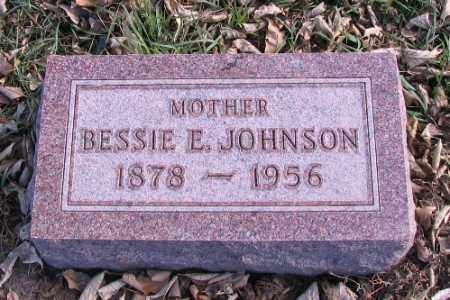 JOHNSON, BESSIE E. - Cass County, North Dakota | BESSIE E. JOHNSON - North Dakota Gravestone Photos