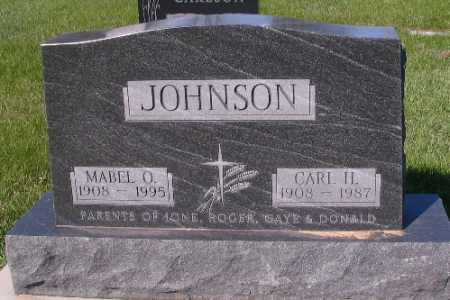 JOHNSON, CARL H. - Cass County, North Dakota | CARL H. JOHNSON - North Dakota Gravestone Photos