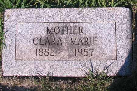 JOHNSON, CLARA MARIE - Cass County, North Dakota | CLARA MARIE JOHNSON - North Dakota Gravestone Photos