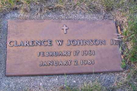 JOHNSON, CLARENCE W. - Cass County, North Dakota   CLARENCE W. JOHNSON - North Dakota Gravestone Photos