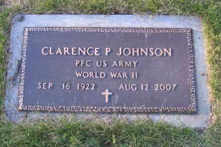 JOHNSON, CLARENCE P. - Cass County, North Dakota | CLARENCE P. JOHNSON - North Dakota Gravestone Photos