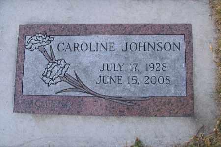JOHNSON, CAROLINE - Cass County, North Dakota | CAROLINE JOHNSON - North Dakota Gravestone Photos