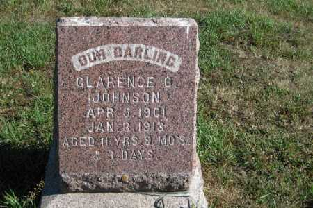 JOHNSON, CLARENCE O. - Cass County, North Dakota | CLARENCE O. JOHNSON - North Dakota Gravestone Photos