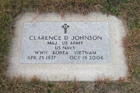 JOHNSON, CLARENCE D. - Cass County, North Dakota | CLARENCE D. JOHNSON - North Dakota Gravestone Photos