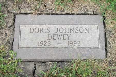 JOHNSON, DORIS - Cass County, North Dakota   DORIS JOHNSON - North Dakota Gravestone Photos