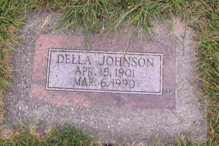 JOHNSON, DELLA - Cass County, North Dakota | DELLA JOHNSON - North Dakota Gravestone Photos