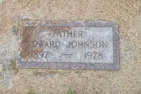 JOHNSON, EDWARD - Cass County, North Dakota   EDWARD JOHNSON - North Dakota Gravestone Photos