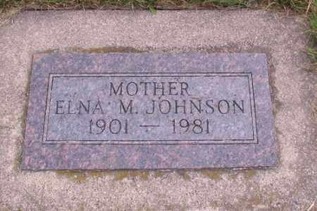 JOHNSON, ELNA M. - Cass County, North Dakota | ELNA M. JOHNSON - North Dakota Gravestone Photos