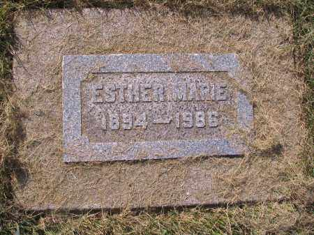 JOHNSON, ESTHER MARIE - Cass County, North Dakota | ESTHER MARIE JOHNSON - North Dakota Gravestone Photos