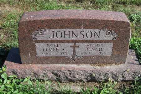 JOHNSON, JENNIE - Cass County, North Dakota | JENNIE JOHNSON - North Dakota Gravestone Photos