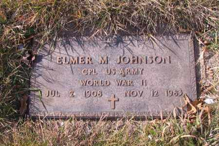 JOHNSON, ELMER M. - Cass County, North Dakota | ELMER M. JOHNSON - North Dakota Gravestone Photos