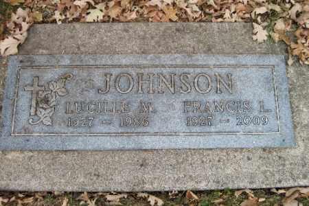 JOHNSON, LUCILLE M.. - Cass County, North Dakota   LUCILLE M.. JOHNSON - North Dakota Gravestone Photos