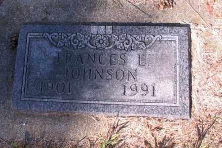JOHNSON, FRANCES E. - Cass County, North Dakota | FRANCES E. JOHNSON - North Dakota Gravestone Photos