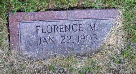 JOHNSON, FLORENCE M. - Cass County, North Dakota | FLORENCE M. JOHNSON - North Dakota Gravestone Photos