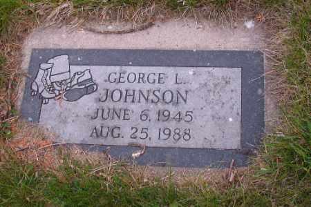 JOHNSON, GEORGE L. - Cass County, North Dakota   GEORGE L. JOHNSON - North Dakota Gravestone Photos