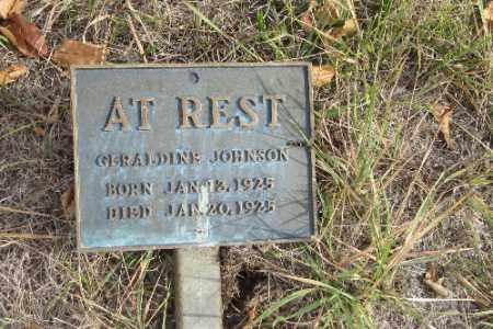 JOHNSON, GERALDINE - Cass County, North Dakota | GERALDINE JOHNSON - North Dakota Gravestone Photos