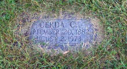 JOHNSON, GERDA C. - Cass County, North Dakota | GERDA C. JOHNSON - North Dakota Gravestone Photos