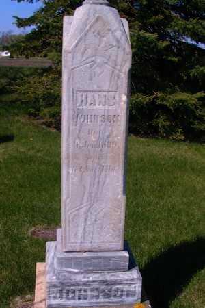 JOHNSON, HANS - Cass County, North Dakota | HANS JOHNSON - North Dakota Gravestone Photos