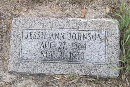 JOHNSON, JESSIE ANN - Cass County, North Dakota   JESSIE ANN JOHNSON - North Dakota Gravestone Photos