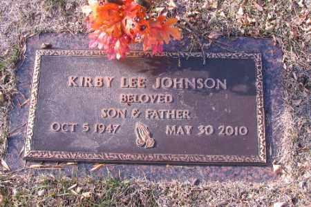 JOHNSON, KIRBY LEE - Cass County, North Dakota | KIRBY LEE JOHNSON - North Dakota Gravestone Photos